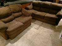 Two piece sofa and loveseat Waldorf, 20603