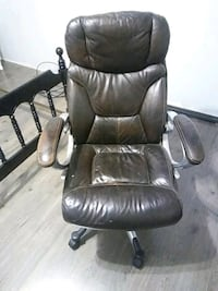 Leather folding office chair Post Falls, 83854