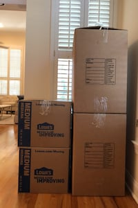 Moving Boxes (Large, Medium and Small) - 40 total Tampa, 33602