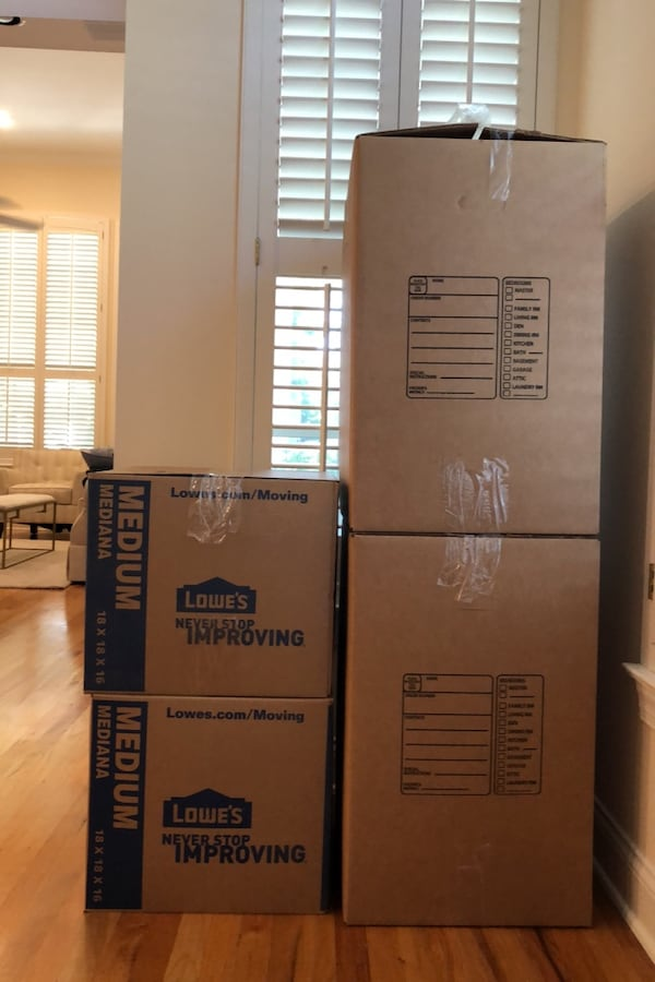 Moving Boxes (South Tampa) - Large, Medium and Small - 40 total 828934f6-bf07-4744-ae2e-f71080969d58