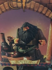 Harry Potter Collectable Figurines - Hagrid's New Arrival and Battling the Mountain Troll Portage, 46368