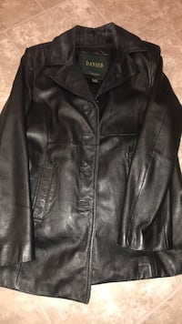 Women's dangier leather coat