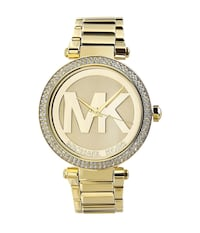 Michael Kors Women's Parker Rose Goldtone Stainless Steel Crystal Watch Aldie, 20105