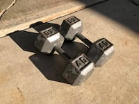 40lbs Dumbbells - Weights - Gym Equipment Hinsdale