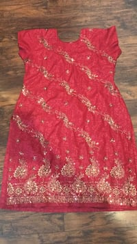 Indian dress size XL floral  Oakland, 94605