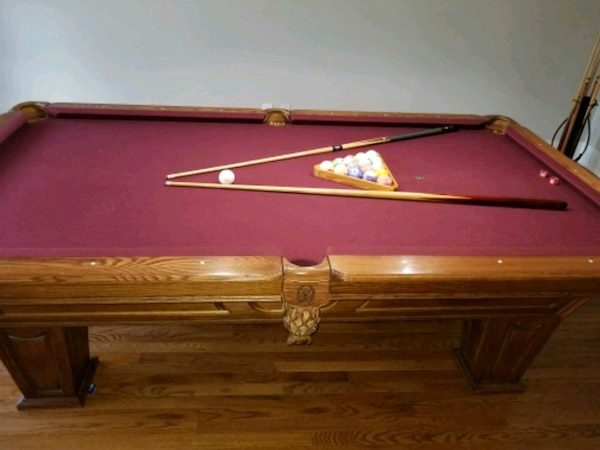 Used Kasson Tudor Pool Table For Sale In Madison Letgo - 8ft kasson pool table