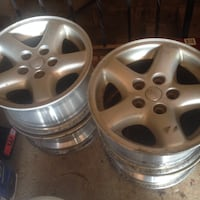 "15"" Jeep Alloy Rims ( 5 x 114.3) Set of 4 Kingston, ON, Canada"