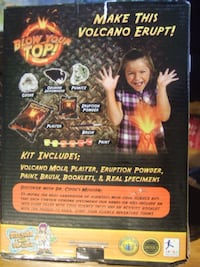 new Discover Ultimate Volcano Science Kit,9247 Mississauga
