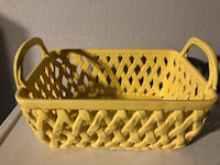 YELLOW Ceramic Basket  Las Vegas, 89147