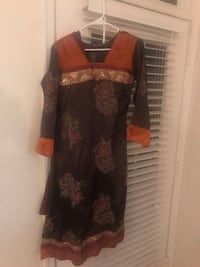 women's black and brown dress Broadlands, 20148