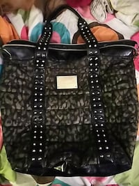 Betsyville black and taupe studded tote bag Sand Springs, 74063