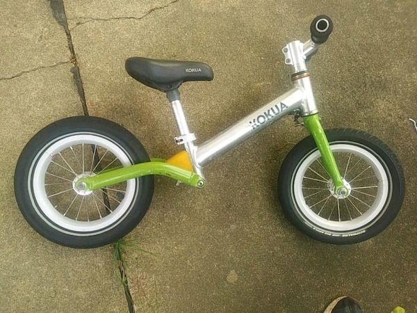 Pedalless bike for toddlers