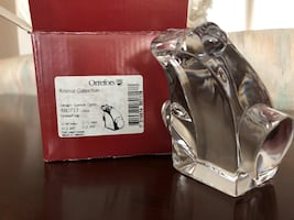 Orrefors Crystal Animal Collection Frog