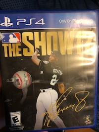 Sony PS4 The Show 17 game case Lawrence, 01841