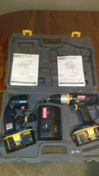 black and red cordless power drill Brantford, N3S 1E7