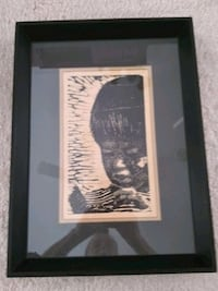 Original Woodcut Print Carrollton, 75006