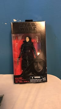 Star wars kylo ren figure with box Des Moines, 50314