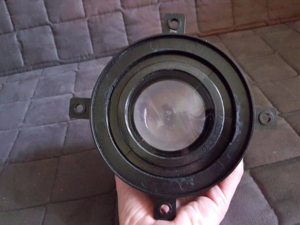 Set of three Delta precision lens - for projection TV