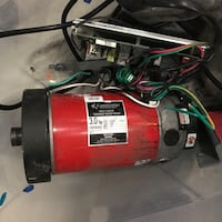 Vision Fitness Treadmill motor and other components