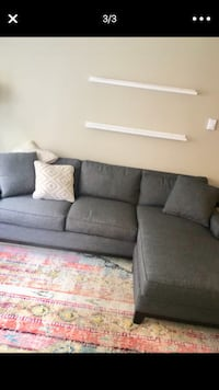 Macy's couch 7.5 ft length less than year old Seattle, 98103