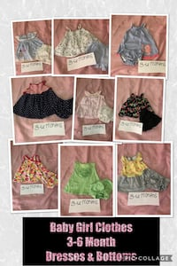 Baby Girl Clothes 3-6 Months Elkton, 21921