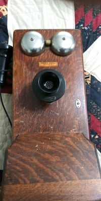 Antique Western Electric wooden wall phone complet Harrisburg, 17111
