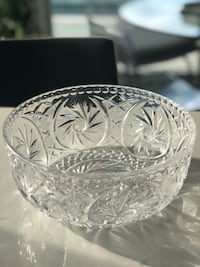 Crystal Serving Bowl Toronto, M8V 1A1