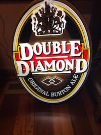 Beer sign electric Double Diamond New in Box Princeton, 08540