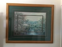"Large framed picture. 44"" x 36"". Great condition! San Marcos, 92078"