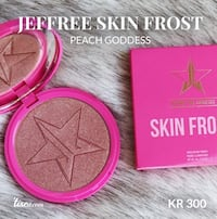 Jeffree Star skin frost ( Peach Goddess ) Oslo, 0284