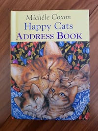 Happy Cats Address Book