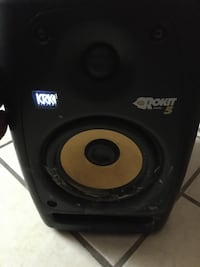 KRK ROKIT 5 Single Speaker WITH RCA cable
