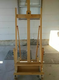 brown wooden easel frame Surprise, 85387