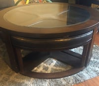 Marion Coffee Table with nesting stools Rancho Cordova, 95670