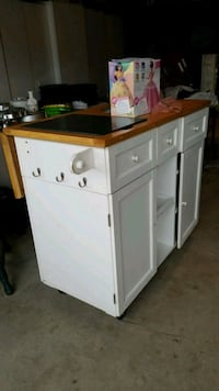 white and brown wooden cabinet Murrieta, 92562