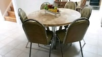 Vintage round table/chairs set Whitby, L1N 9E5
