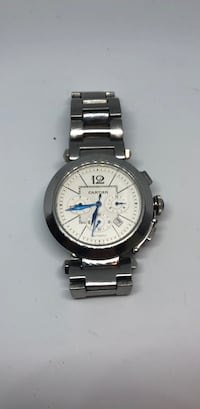 Cartier Pasha De Chronograph Stainless Steel Serial Number 810521 Milford, 06460
