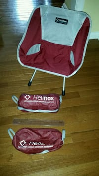HELINOX Chair One Mini Set - red - like new - kids Sterling, 20165