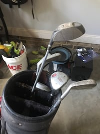 Black and gray golf caddy Wake Forest, 27587