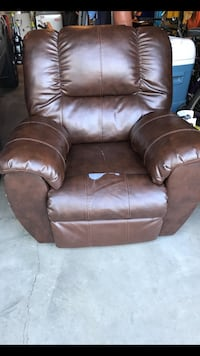brown leather recliner sofa chair Graham, 98338