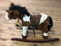 Brand new toy horse that makes noise