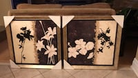 two white petaled flowers paintings Oakville, L6H 6T5