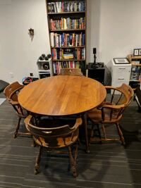 4ft Round Table and 4 Chairs Silver Spring, 20906