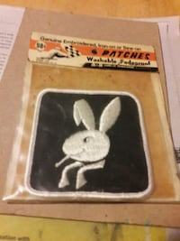 Vintage 1970 playboy patch in package