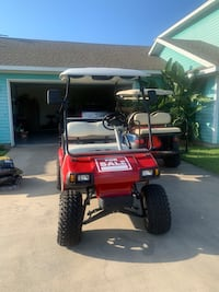 2008 President battery operated golf cart.