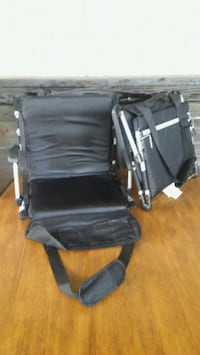 Two almost brand new fold up bleacher chairs  Crystal Springs, 33540