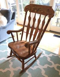 Brown wooden rocking rocking chair Clearview, L0M
