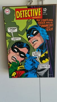 Batman and Robin on your wall! Yucca Valley, 92284
