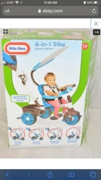 4-in-1 Tricycle