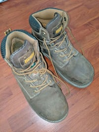 Constitution steal toe boots size 12
